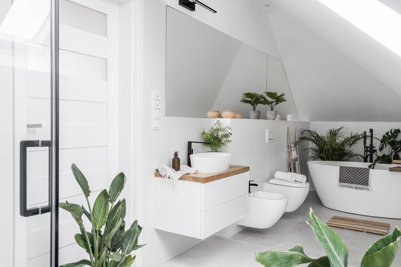 Aranżacja łazienki Na Poddaszu Moje Tam I Tu