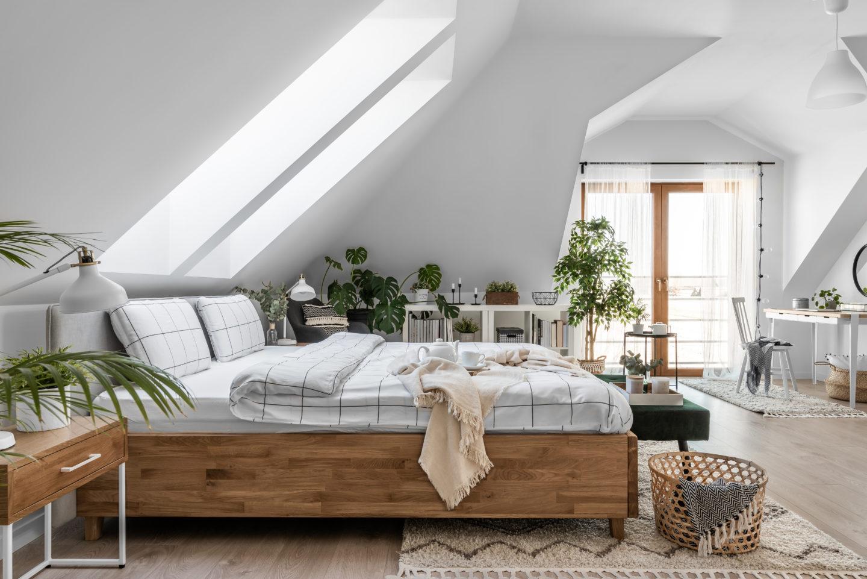 łóżko-pod-skosami